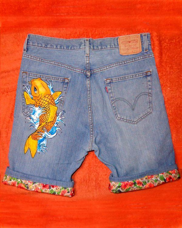 Shorts jeans archivi pagina 2 di 2 never say never for Prezzo carpa koi