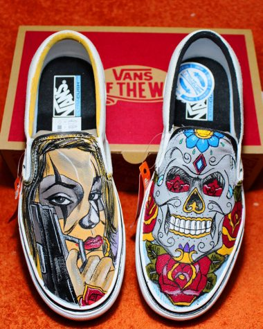 vans personalizzate donna