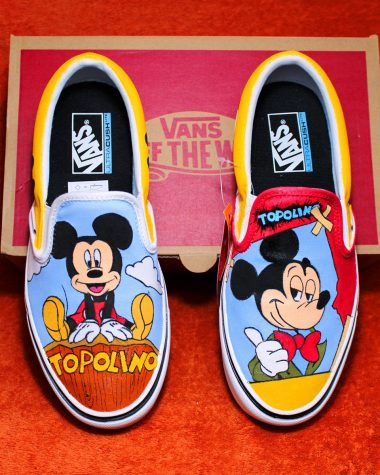 scarpe vans topolino